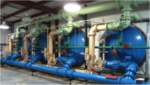 Upgrade System Project in La. – Converting competitors equipment to H&T design